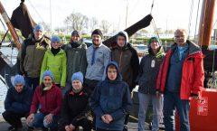 Abschlussgroßfahrt der Sippe Regenwürmer im April 2017 nach Holland